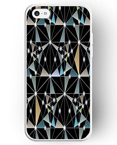 african braid styles UKASE Cases For Apple iPhone 5C with the Fashion Illustration Picture of Irregular Triangle Pattern