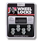 "Gorilla Automotive 73631T Toyota O.E. Wheel Locks With Washer (12mm x 1.50"" Thread Size)"
