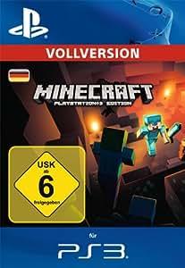 Minecraft: PlayStation3 Edition [Vollversion] [PS3 PSN Code - deutsches Konto]