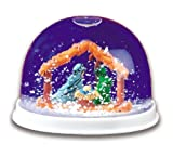 Plastic Nativity Christmas Snow Globe 12-Pack