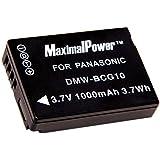 Maximalpower PAN DMW-BCG10 Battery for Panasonic