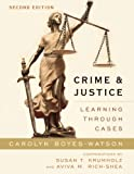 img - for Crime and Justice: Learning through Cases book / textbook / text book
