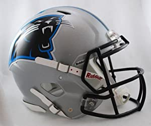 NFL Carolina Panthers Speed Authentic Football Helmet by Riddell