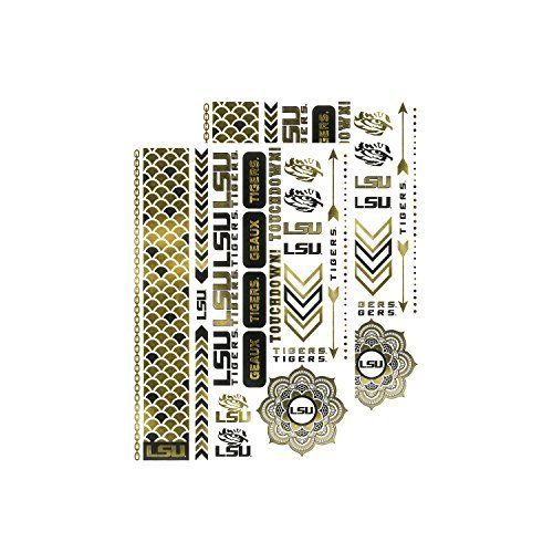 ncaa-lsu-tigers-metallic-body-jewelry-2-full-sheets-white-by-littlearth