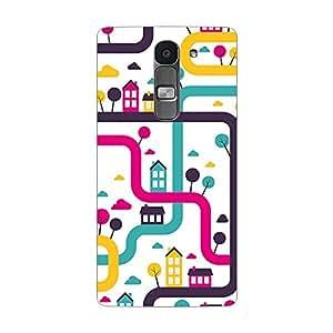 Garmor Designer Plastic Back Cover For LG Spirit