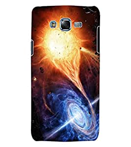 ColourCraft Galaxy Design Back Case Cover for SAMSUNG GALAXY J7