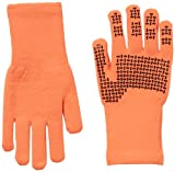 SealSkinz Men's Ultra Grip Gloves - Orange, Medium