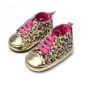 Moda Diseño de Leopardo Zapatos para Bebés 3-6 Meses Recién Nacidos Regalo por Pinzhi en Bebe Hogar