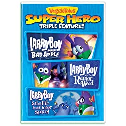 Larryboy Superhero Power Pack
