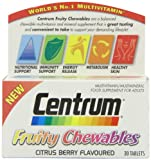 Centrum Fruity Chewables Tablets - Pack of 30