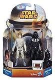 Star Wars Mission Series Darth Vader and Luke Skywalker Action Figure Set