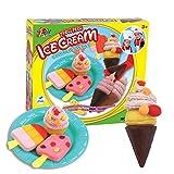 OYSHOP Play- Dough Mold Set Ice Cream Ice Lolly Clay Plasticine