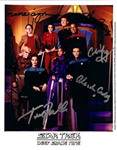 Star Trek Deep Space 9 Cast Signed Autographed 8 X 10 Rp Photo - (Mint Condition)