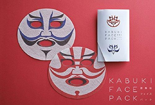歌舞伎フェイスパック KABUKI FACE PACK オリジナル袋入
