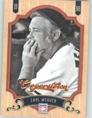 2012 Panini Cooperstown Baseball Card #116 Earl Weaver - Baltimore Orioles (Legend / Hall of Fame / HOF) MLB Trading Cards