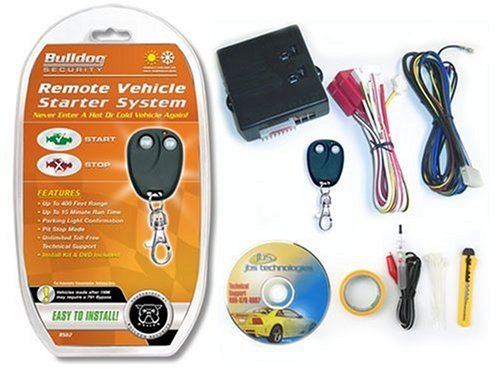 Bulldog RS82-I Do It Yourself Remote Starter - Automatic Transmissions only (Remote Starter Alarm compare prices)
