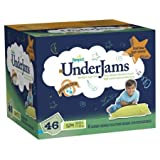Pampers UnderJams Boys Diapers Big Pack Size 7, S/M, 46 Count