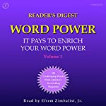 Reader's Digest Word Power, Volume 1: 100 Challenging Words from America's Most Popular Magazine   William Funk,Judith Cummings,Cecilia Fannon