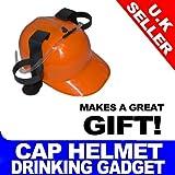 Orange Beer Helmet