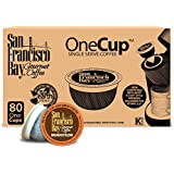 San Francisco Bay OneCup, Breakfast Blend, 80 Single Serve Coffees