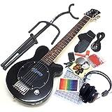 Pignose ピグノーズ ギター PGG-200 BK アンプ内蔵ミニギター14点セット [98765]【検品後発送で安心】