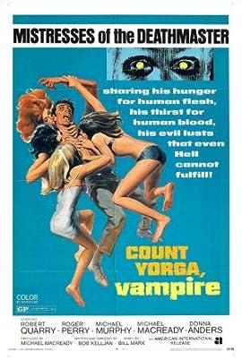 Count Yorga Vampire Movie Poster 11x17 Heavy Stock Print