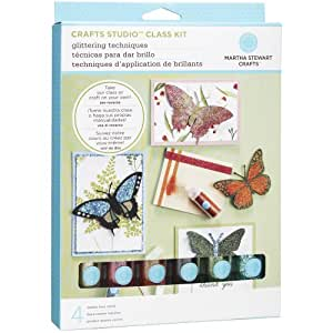 Martha stewart crafts glitter techniques kit for Martha stewart crafts spray paint kit