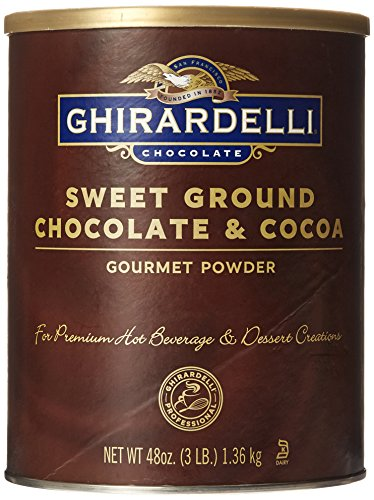 Ghirardelli Chocolate Sweet Ground Chocolate & Cocoa, 3 lb. (Ghirardelli Beverage compare prices)
