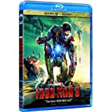 Iron Man 3 2D+3D Blu-Ray (Region A) (Hong Kong Version)