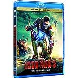 Iron Man 3 2D+3D Blu-Ray (Region A) (Hong Kong Version)
