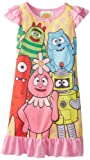 Komar Kids Girls 2-6X Yo Gabba Nightgown