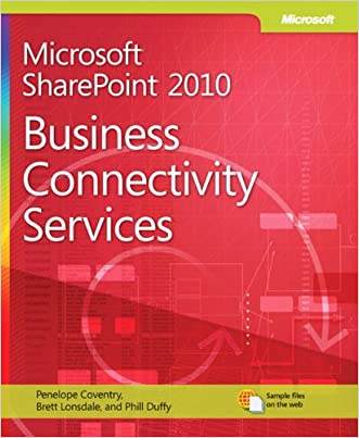 Microsoft SharePoint 2010 Business Connectivity Services