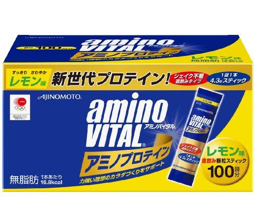 Ajinomoto 味の素 16AM2850 アミノバイタル アミノプロテイン レモン味