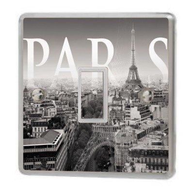 Paris France Light Switch Sticker Vinyl / Skin cover sw41