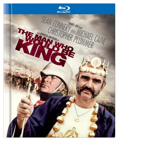 Cover art for  The Man Who Would Be King [Blu-ray Book]