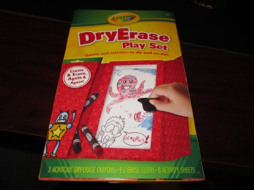 Crayola Dry Erase Play Set - Games and Activities To Do and Re-do!