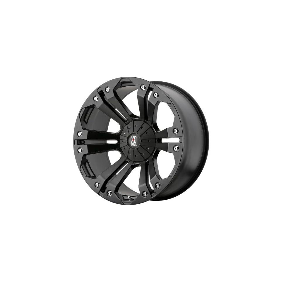 XD Series Monster XD778 Matte Black Wheel (20x9/6x135mm)