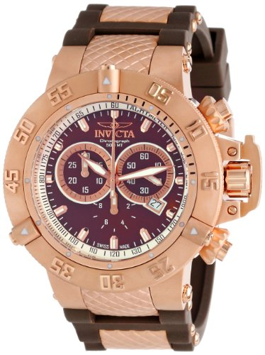 Invicta Men's 5510 Subaqua Collection Rose Gold-Tone Chronograph Watch
