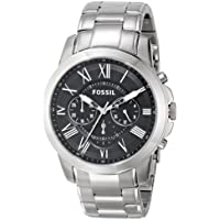 Fossil FS4736 Grant Stainless Steel Men's Watch