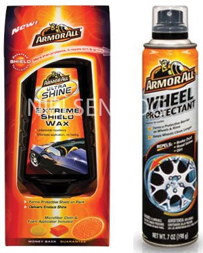 Armorall SHIELD 1-Wax + 1-Shield for Wheels - 2PK