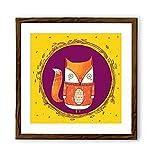 Chumbak Circle Fox Poster (CH WA130)