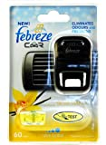 FEBREZE CAR ELIMINATES ODOURS AND FRESHENS - VANILLA & BOUQUET-A FRESH EXOTIC FRAGRANCE OF SWEET VANILLA PODS AND FLOWERS, INSPIRED BY A SUNSET DRIVE ON A TROPICAL ISLAND