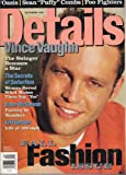 Details Magazine September 1997 (Vince Vaughn Fall Fashion Issue, details september 1997)