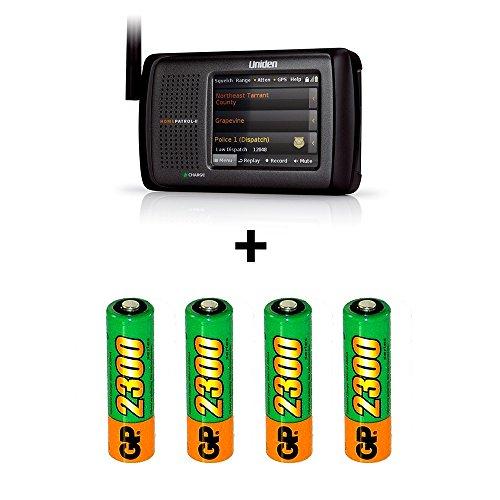Uniden-HomePatrol-2-Touchscreen-Phase-II-Digital-Scanner-plus-Rechargeable-Batteries-BUNDLE