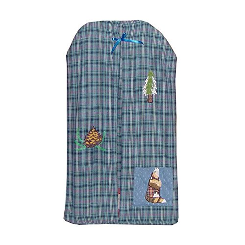Patch Magic 12-Inch by 23-Inch Wolf Diaper Stacker