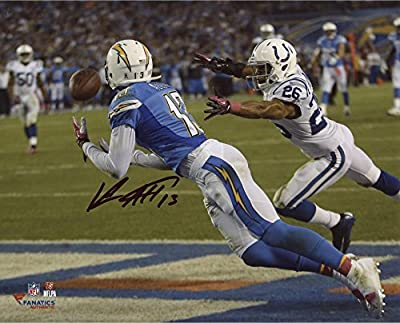 "Keenan Allen San Diego Chargers Autographed 8"" x 10"" Horizontal Dive TD Photograph - Fanatics Authentic Certified"