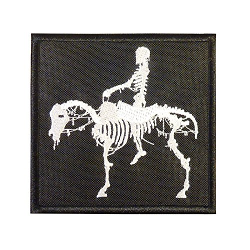 US Marina Navy Seals Silver Squadron Dead Horse DEVGRU ST6 NSWDG Morale Velcro Toppa Patch