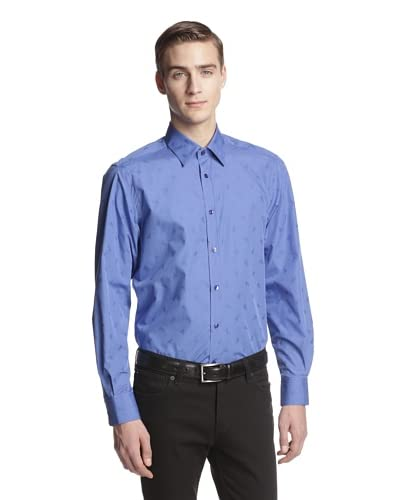 Versace Collection Men's Medusa Jacquard Woven Shirt