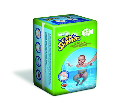 Huggies Little Swimmers Disposable Swimpants (Character May Vary), Small, 12-Count (Pack of 2)