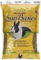 Sun Seed Company SSS13612 6-Pack Rabbit Pellets, 2.5-Pound